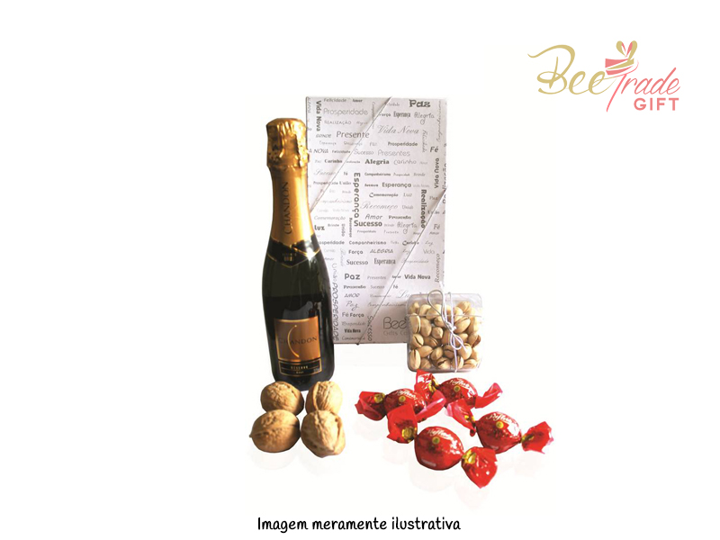 Kit Espumante Chandon e Bombons - BV559