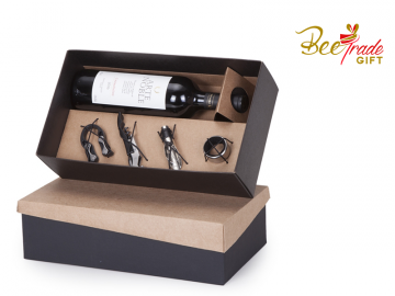Foto BT356 - Kit Vinho Arte Noble