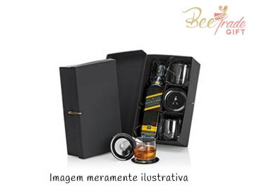 Kit Whisky Escocês Johnnie Walker Black Label 5 peças - BV11